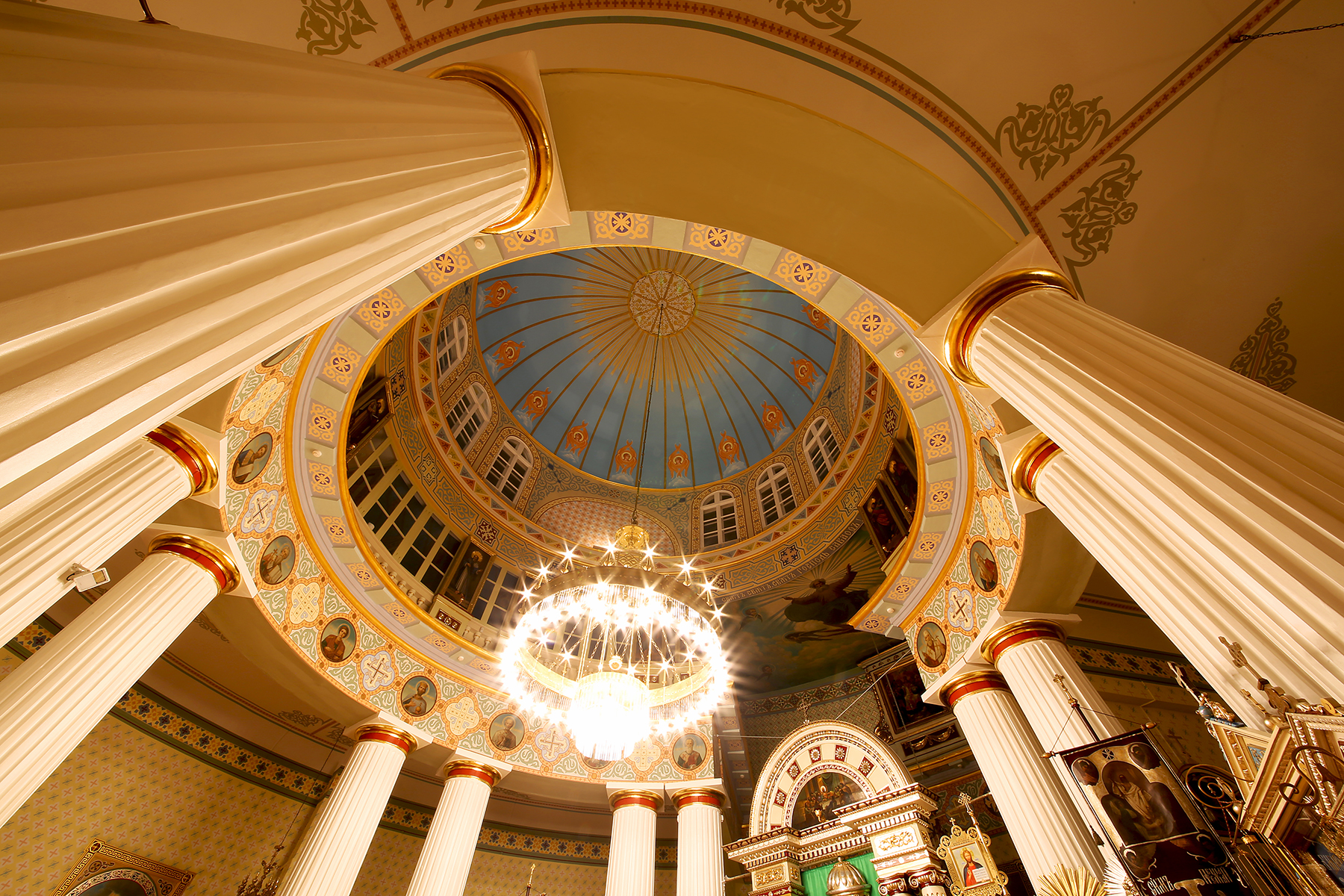 Ņevska baznīcas kupols 010