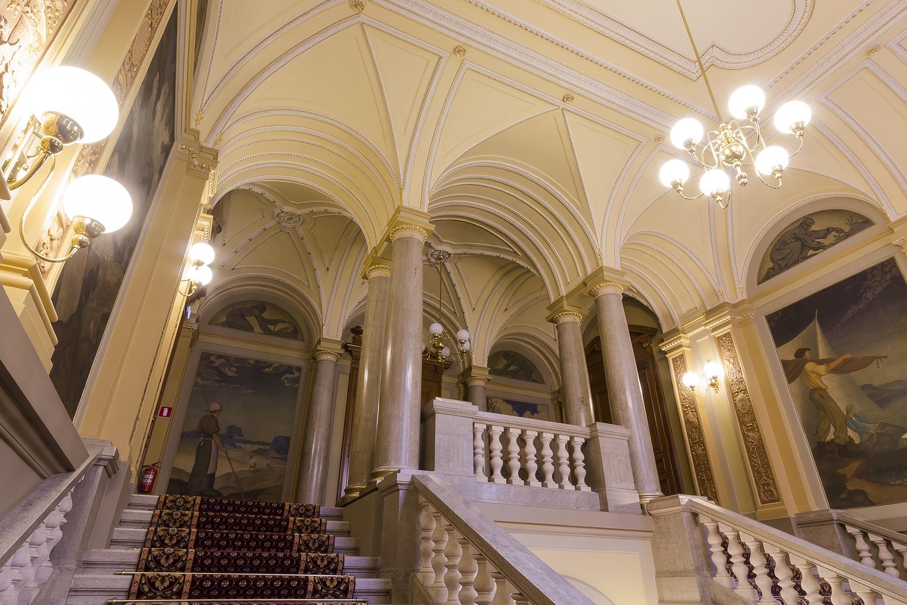 Restaurācija Latvijas Bankas klientu kases vestibilā 002