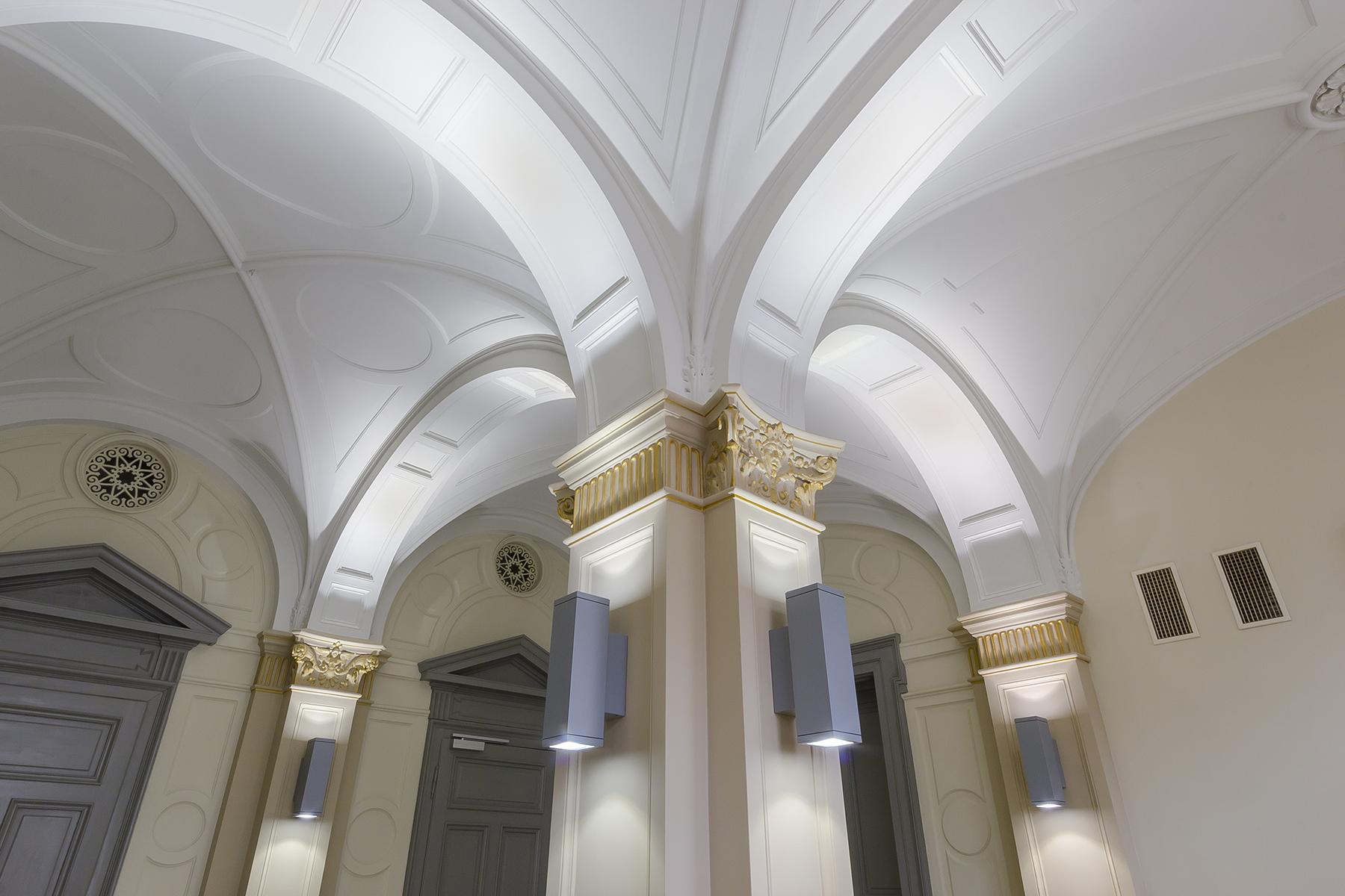 Restaurācija Latvijas Bankas klientu kasē 003