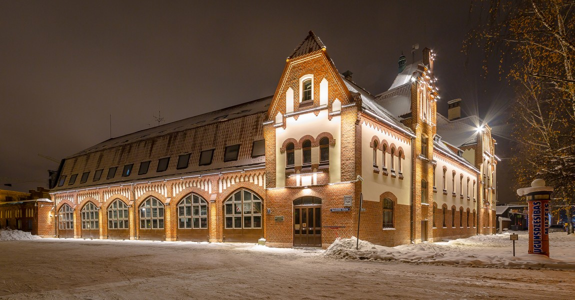 Latvian Fire Fighting Museum Facade Has Been Restored