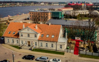 Expansion of the Court House in Ventspils Began