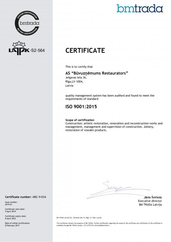 001-Buvuznemums_restaurators_ISO9001-ENG