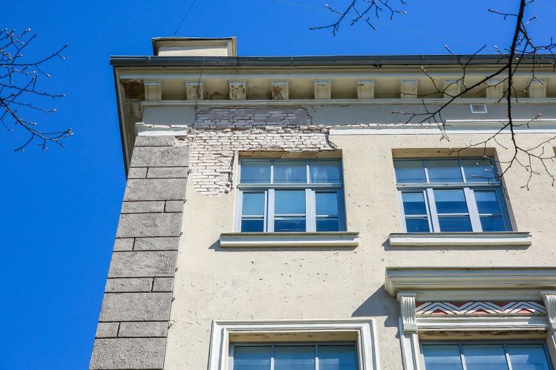 [01] Facade Before Renewal (Riga Teika Secondary School)