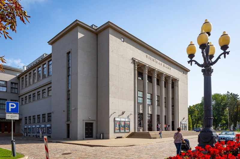 [02] Facade after renewal (The Unity House in Daugavpils)