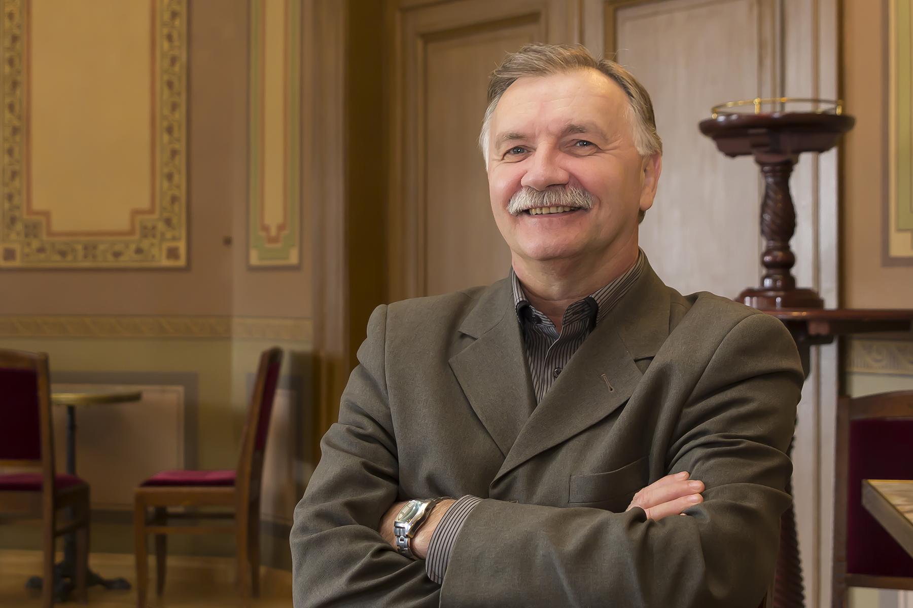 """Valdis Uzariņš, AS """"Būvuzņēmums Restaurators"""" valdes loceklis."""