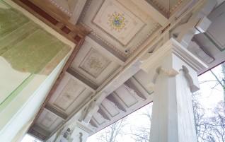 Noslēgusies Elejas muižas Tējas namiņa restaurācija