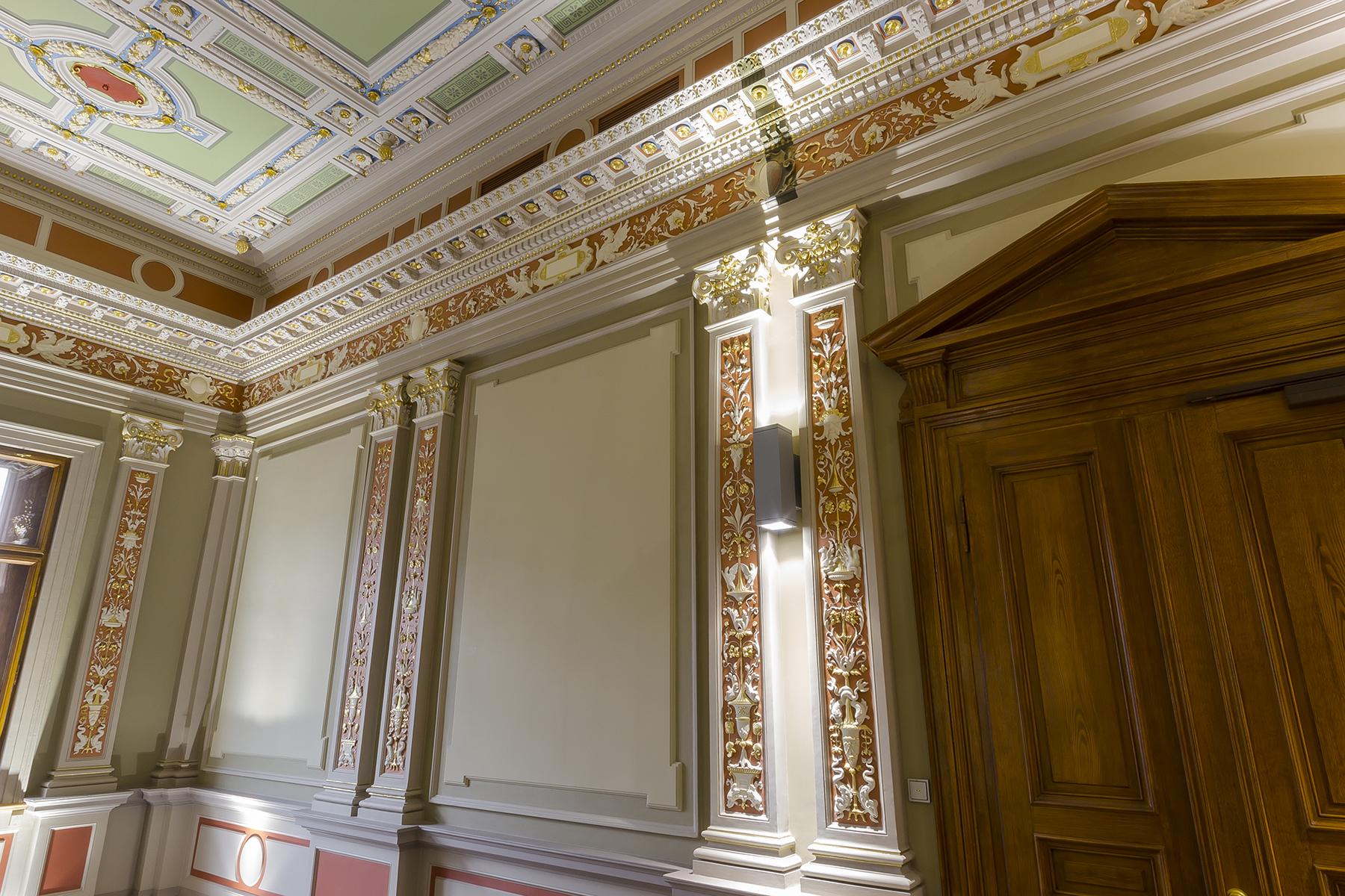 Restaurācija Latvijas Bankas klientu kases kāpņu telpā 006