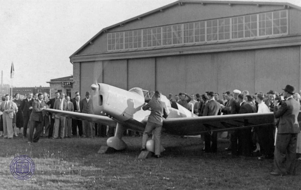 VEF-razota-lidmasina-Spilves-lidlauka-1938g-foto