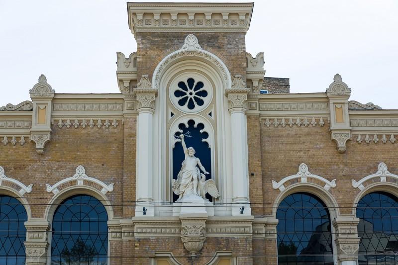 VEF Frontal Facade after Restoration 002