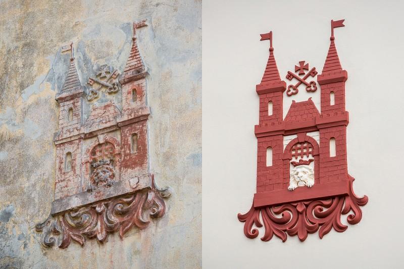 Rīgas ģerboņa restaurācija