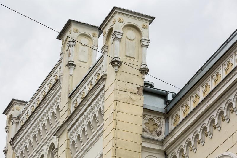 [03] Fasāde pirms atjaunošanas (Rīgas Valsts 1. ģimnāzija)