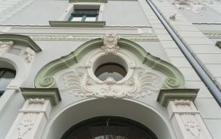 Восстановлен фасад Курземского окружного суда
