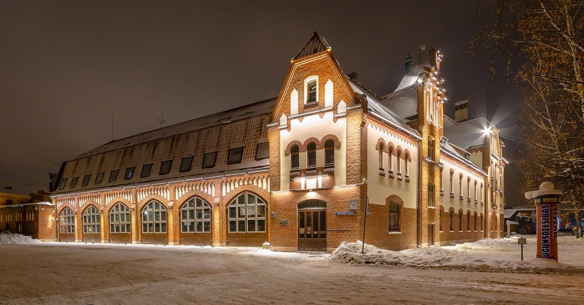 Отреставрирована кладка Музея пожарного дела