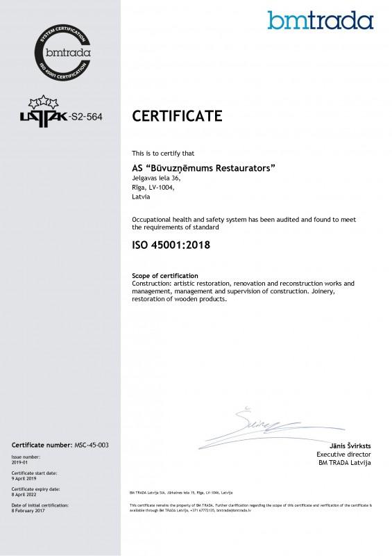 002-Buvuznemums_Restaurators_ISO45001-ENG