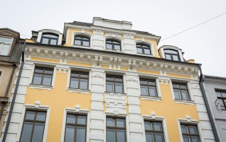 Another Facade at Dome Square's Renewed
