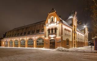 Latvian Fire Fighting Museum Facade Has Been Restored
