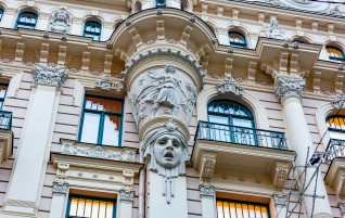 The Art Nouveau Pearl in Riga Has Been Restored